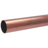 2 - 1/2 in x 1 ft Type L Copper Pipe