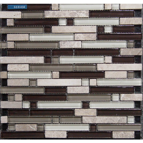 "12"" x 12"" Glass Mosaic (8404)"